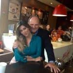 Belen Rodriguez e Gerry Scotti - McDonald's