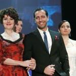Emanuela Grimalda (Ave Battiston) e Gennaro Cuomo (Carmine Zullo) - Un Medico in Famiglia 8