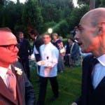 Matrimonio Valeria Marini, Enzo Miccio e Gigi D'Alessio