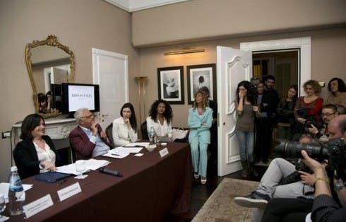 Miss Italia - Patrizia Mirigliani conferenza stampa