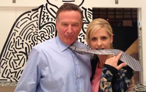 The Crazy Ones: Robin Williams e Sarah Michelle Gellar