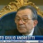 Giulio Andreotti morto