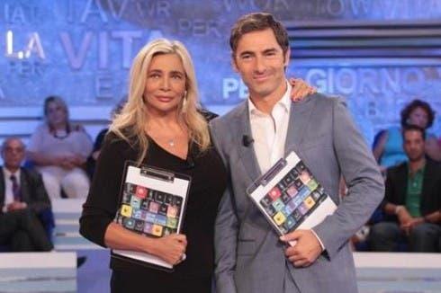 Mara Venier e Marco Liorni