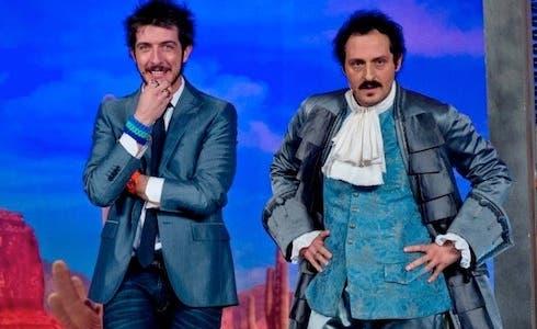 Paolo Ruffini con Fabio Troiano