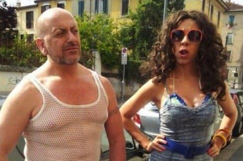 Virginia Raffaele nei panni del trans Marileno