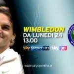 Wimbledon 2013 su Sky Sport
