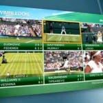 Wimbledon 2013 su Sky Sport - Il mosaico interattivo