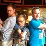 Anastacia con John Fields e Jamie Hartman