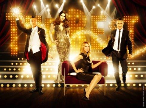 Arturo Brachetti, Alessandra Martines, Lara Fabian e Sebastien Stella in The Best