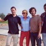 Il nuovo team di EMHE Italia (da Instagram di Alessia Marcuzzi)