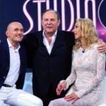 Alfonso Signorini, Gerry Scotti e Valeria Marini