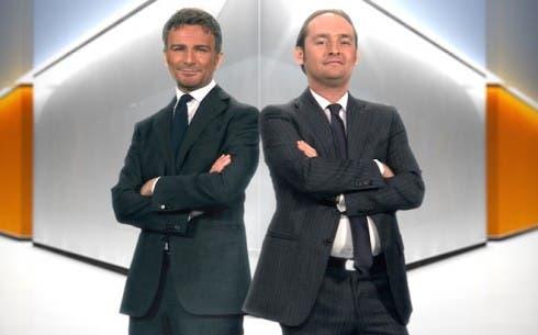 Alessandro Bonan e Gianluca Di Marzio
