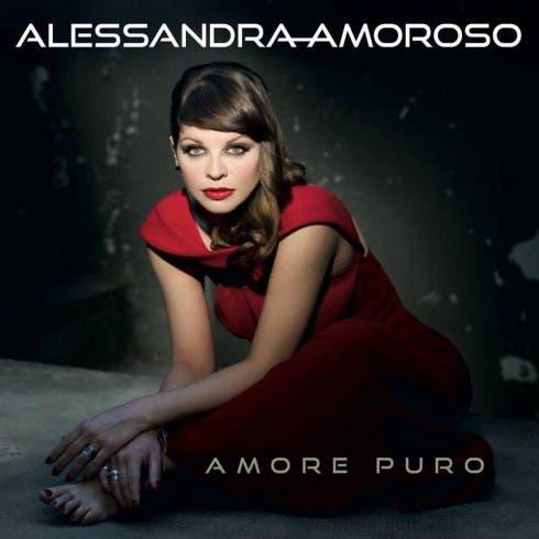 Amore Puro, la copertina - Alessandra Amoroso