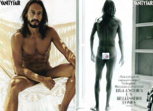 Bob Sinclair nudo su Vanity Fair