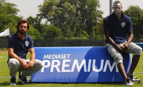 Mediaset Premium, Pirlo e Balotelli