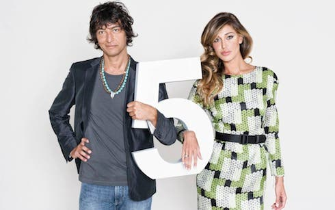 Belen e Simone Annicchiarico Italia's got talent 5
