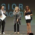Davide Maggio, Rita Dalla Chiesa e Selvaggia Lucarelli sul palco dei TeleRatti 2013