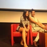 Edy Ganem e Roselyn Sanchez al Roma Fiction Fest