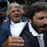 Beppe Grillo e Roberto Fico, Rai (Reuters)