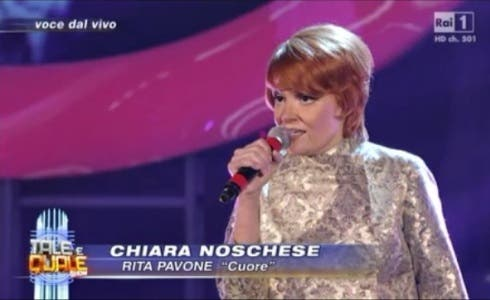 Tale e quale show 3 Chiara Noschese