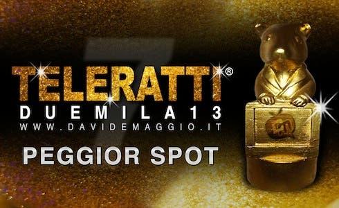 TeleRatti 2013 peggior spot