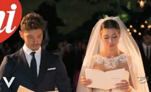 Verissimo - Stefano De Martino e Belen Rodriguez sposi