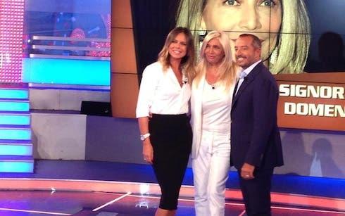 Paola Perego, Mara Venier, Franco di Mare