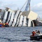 Costa Concordia, rotazione