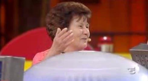 Avanti un Altro - signora del pubblico - 14 ottobre 2013