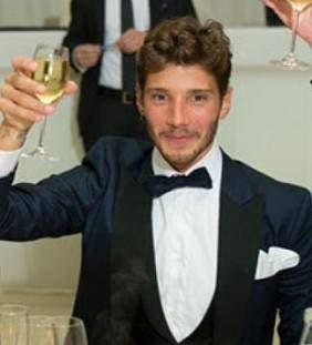 Stefano De Martino al suo matrimonio