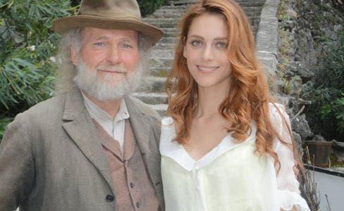 Miriam Leone in Il segreto di San Leonardo (foto dalla pagina FB del Miriam Leone Fans Club)