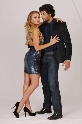 Jesus Luz e Agnese Junkure - coppia Ballando con le Stelle 2013