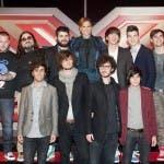 X Factor 7 - Simona Ventura con i gruppi