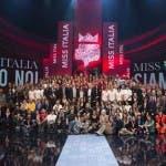 Lo staff di Miss italia 2013