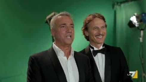 Miss Italia 2103 - Massimo Ghini e Cesare Bocci
