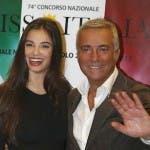 Miss Italia 2013 Massimo Ghini e Francesca Chillemi