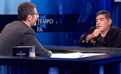 Maradona a Che tempo che fa