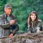 Terence Hill e Gaia Bermani Amaral in Un Passo dal Cielo 2