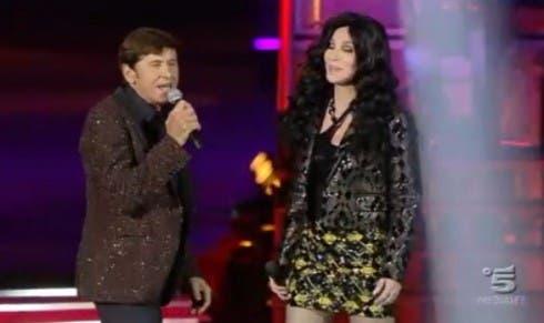 Gianni Morandi e Cher