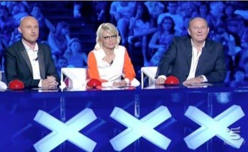 Italia's Got Talent, De Filippi, Scotti Zerbi