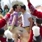 Glee 5 - Kurt e Blaine si baciano