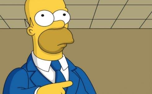 Il Simpson fumetto striscia porno