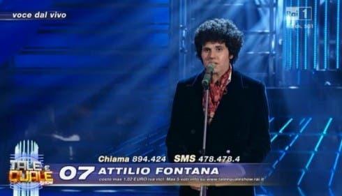 Attilio Fontana imita Lucio Battisti