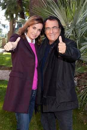 Cristina Parodi e Al Bano