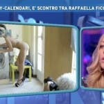 Karina Cascella parla del calendario artistico di Raffaella Fico