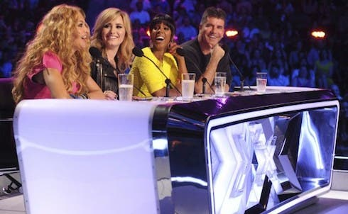 ascolti sky x factor usa