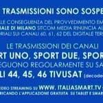Sport Uno, Due, Tre - Sospese trasmissioni