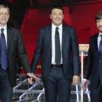 Primarie Pd, Renzi, Cuperlo, Civati