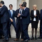 Delegazione Mediaset dal Papa - da corriere.it