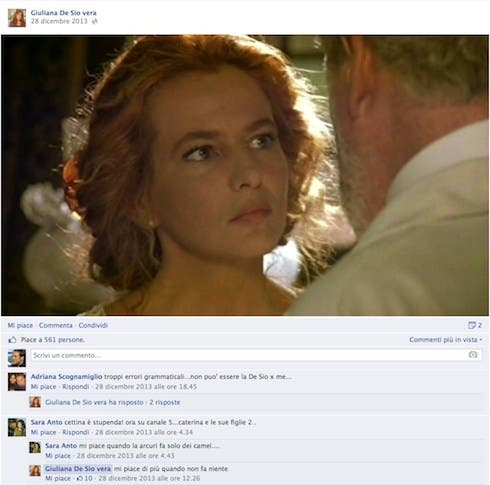 Giuliana De Sio - Facebook